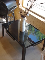 Table de salon à tiroirs