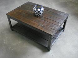Table basse chene massif